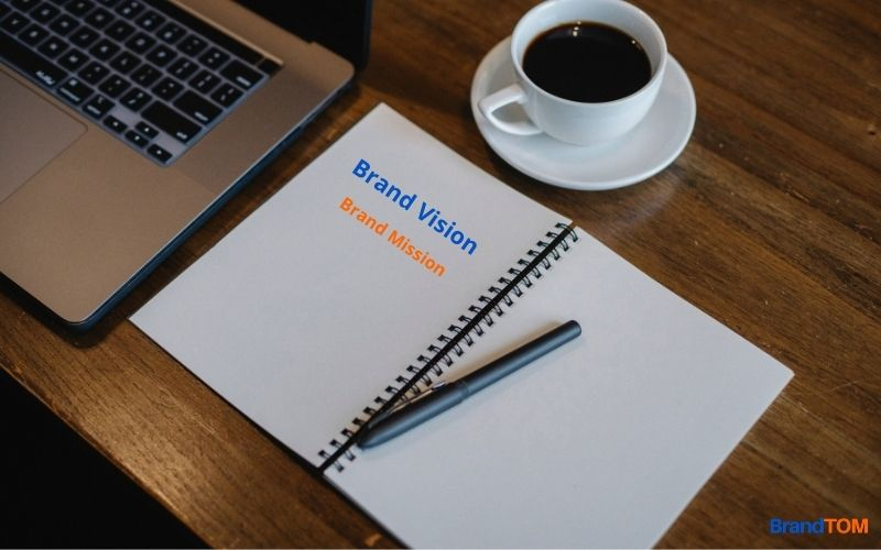 Writing Brand Messages on Paper